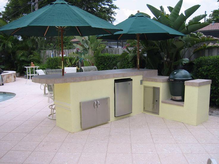Outdoor Kitchen Design Images Big Green Egg