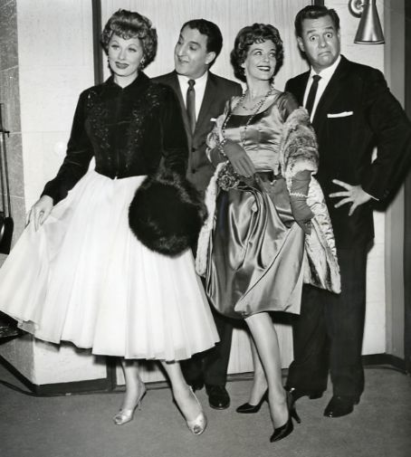 Lucy & Desi with Danny Thomas and Marjorie Lord