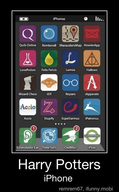 Harry Potter's iPhone-where can i get these apps?