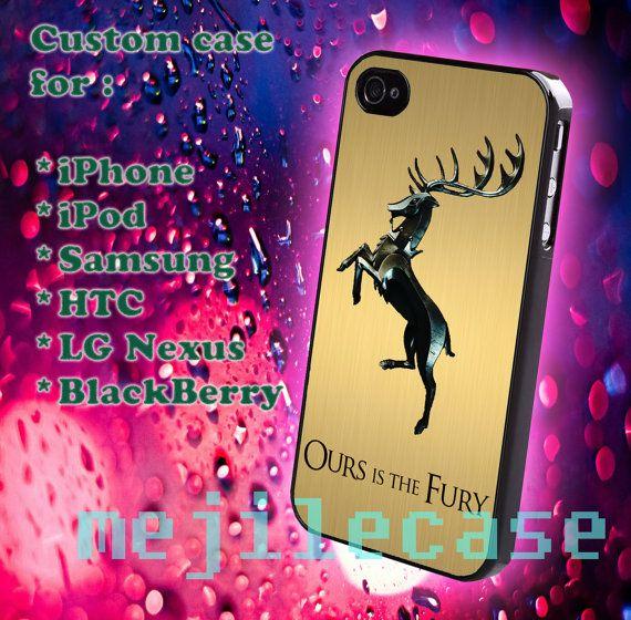 Game of thrones iphone 4/4s iphone 5/5s/5c Blackberry by mejile, $12.10