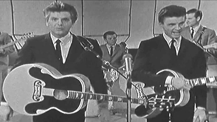Everly Brothers ~ Live ~ Cathy's Clown ~ 1961