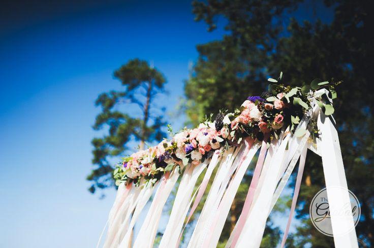 Ceremony arch flower decor Выездная регистрация Арка Свадебный декор
