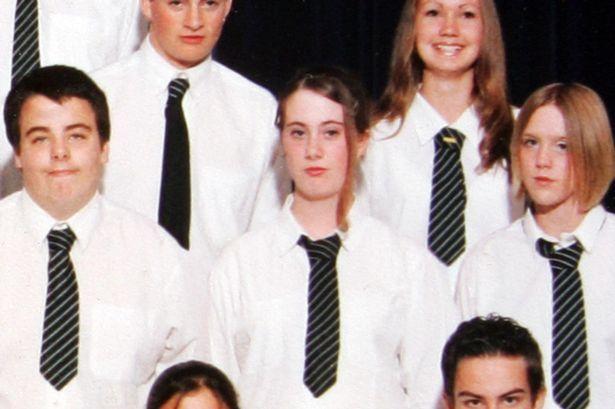 Photo de classe de Samantha Lewthwaite datant de 1996