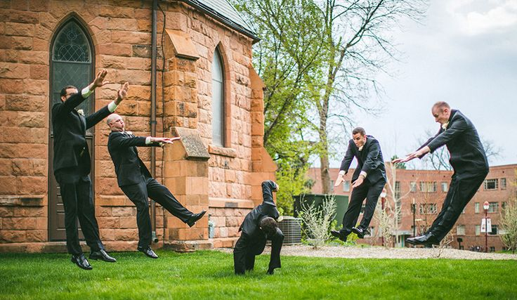 Epic Groomsmen shot by the Willinghams