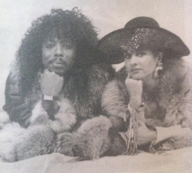 Rick & Teena Marie  Insane collab! Love!