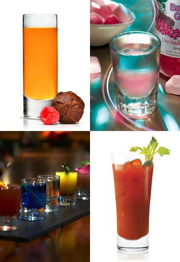 Alcoholic shot recipes: Striking party shooters