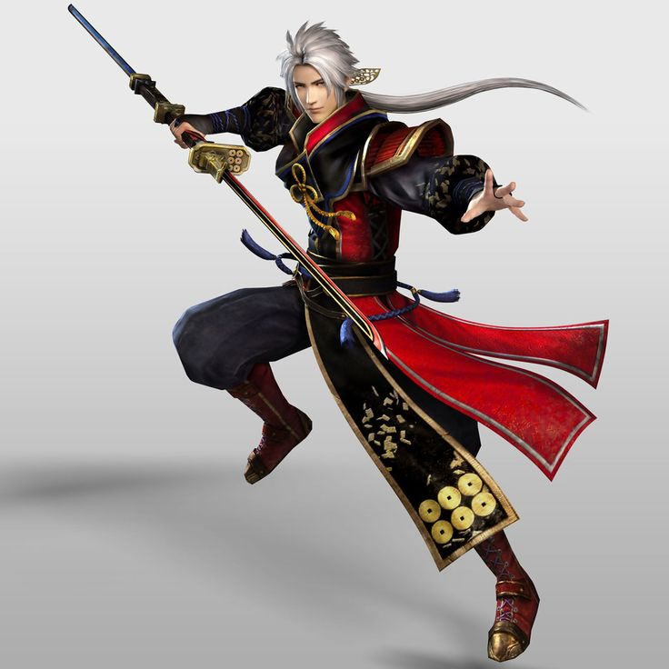 Nobuyuki Sanada - Samurai Warriors 4