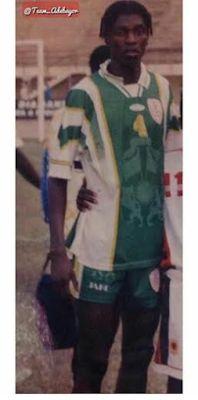 See throwback pics of Emmanuel Adebayor and Asamoah Gyan