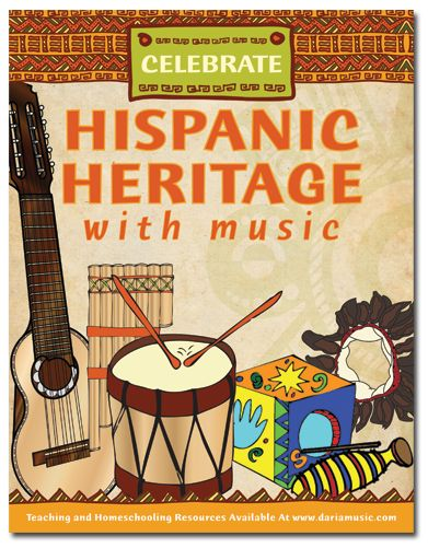 Free eBook from Daria Music celebrating Hispanic Heritage month! Lots of crafts, activities & music!