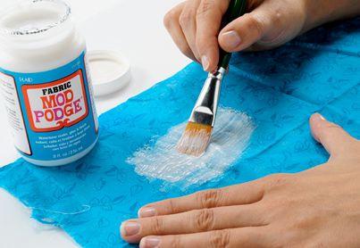 Decoupage. Technique Thursday: Essential Mod Podge Techniques   Paint Me Plaid