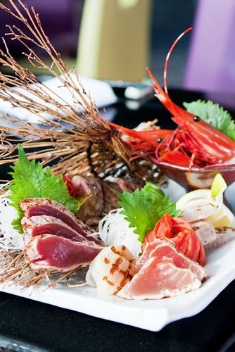 Incredible seafood platter - yum oh