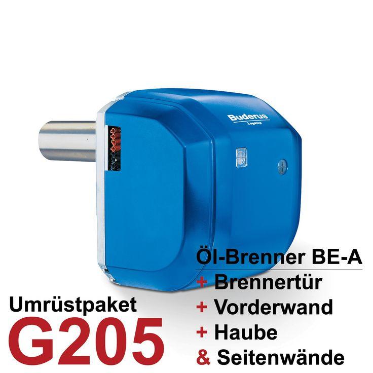 Buderus Logatop Öl-Brenner BE-A