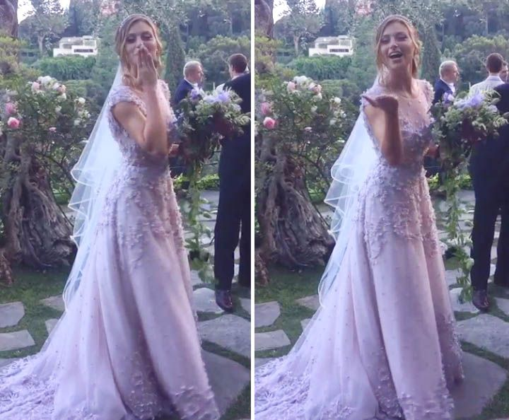 Aly Michalka Gets Married in Italy
