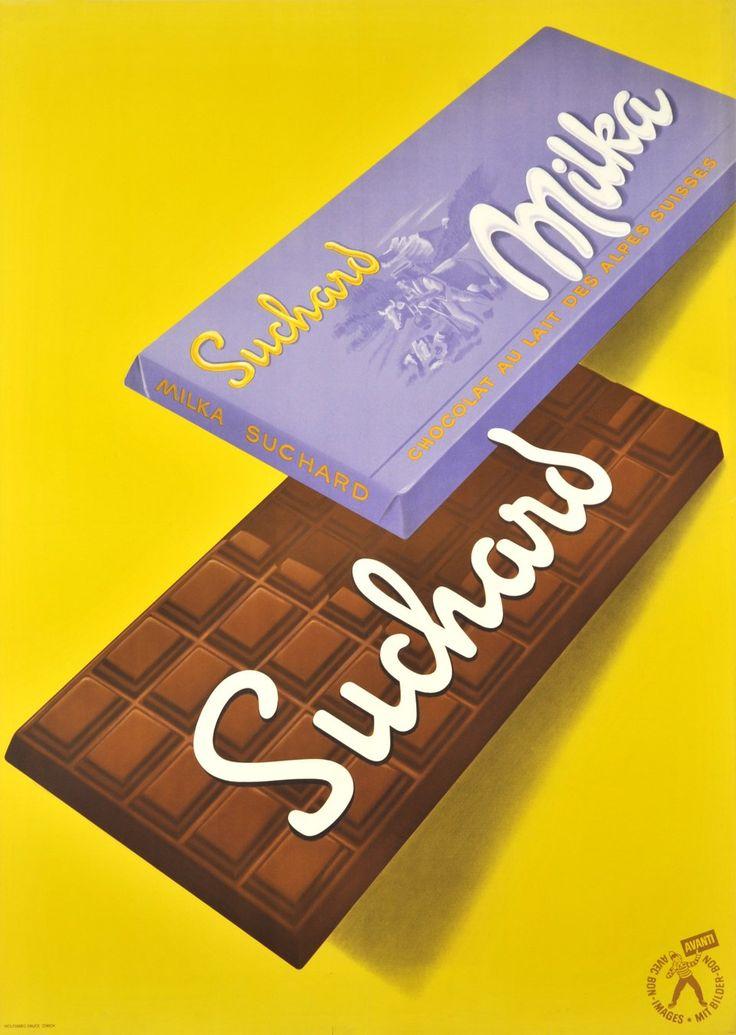 Suchard, Milka. Paul O. ALTHAUS – 1950 circa