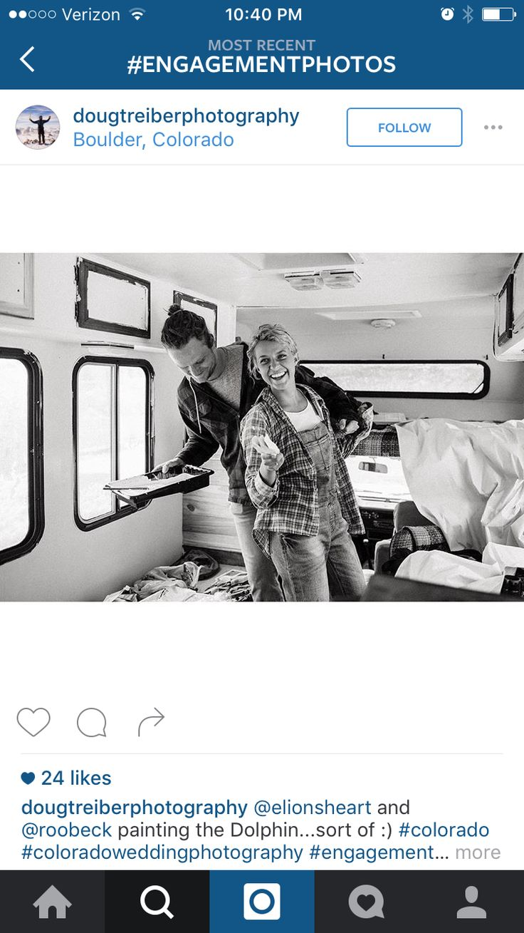 I love how candid the photo is.  I want Brenna and I to be this couple!