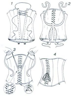 How to Lace a Corset | Corset | Steel Boned Corsets | Waist Cinchers