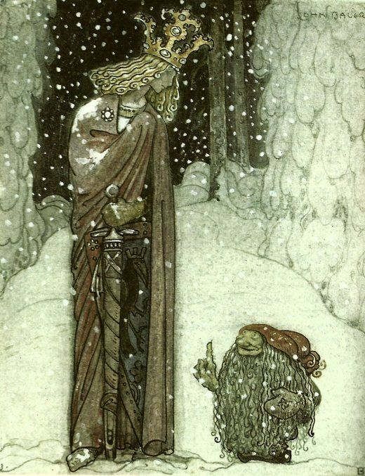 stormyarthur:    Christmas Tomten, John Bauer