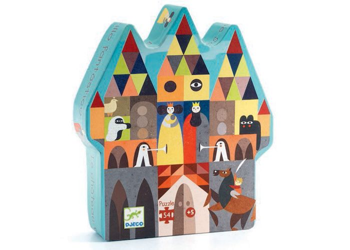 Djeco Det fantastiske Slot - Tinga Tango Designbutik. Interiørbutik - Interior - Children - Børn - Toys - Legetøj - Brugskunst - Design - Kunst - Webshop - Billig fragt - spil - games - Djeco - Janod - Sebra - Esthex
