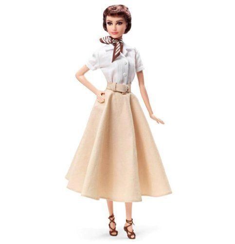 バービーコレクター バービー オードリー・ヘップバーン 「ローマの休日」 ドール Pink (X8260):Amazon.co.jp:おもちゃ