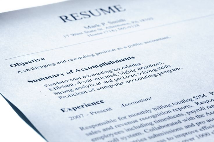 Useful Tips for Writing a Resume Cover Letter and Resume - resume objective definition