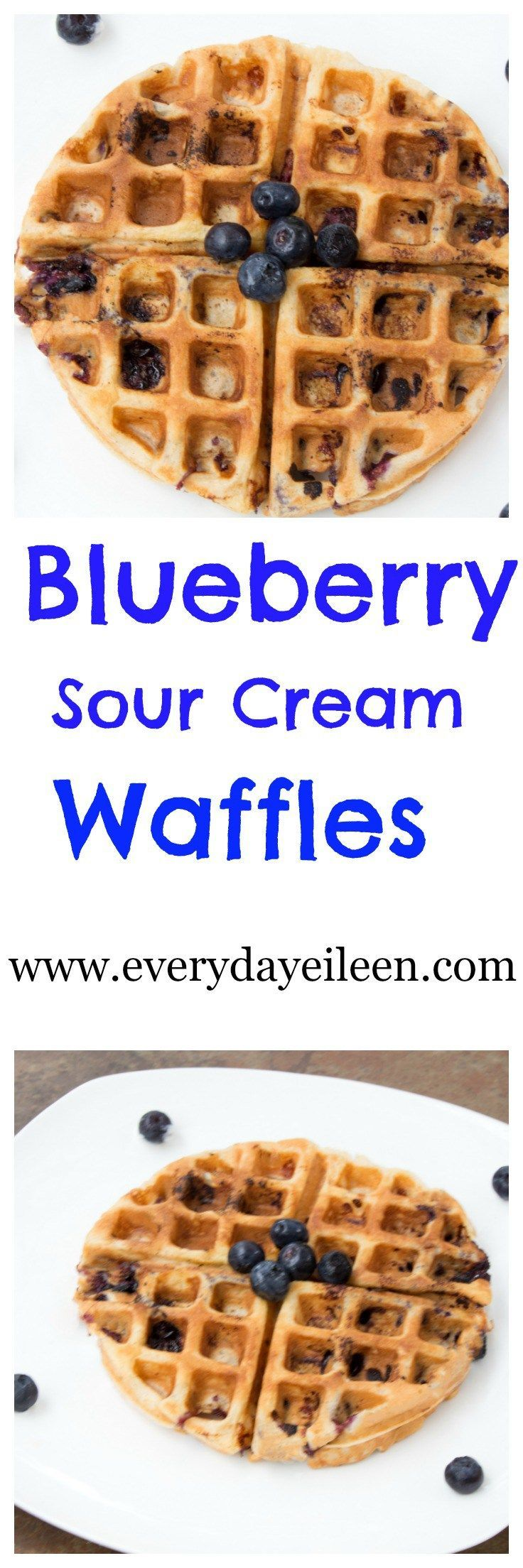 sour cream waffle | Best of Pinterest | Pinterest | Sour Cream ...