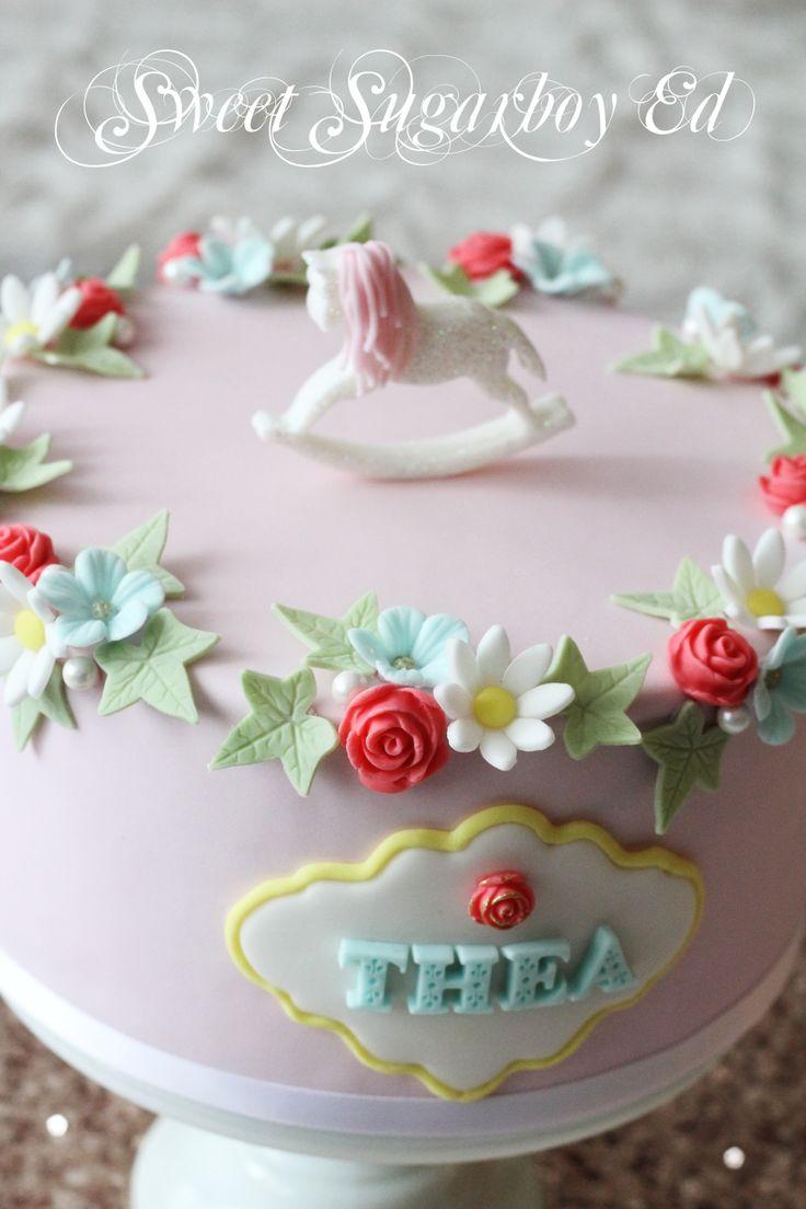Baby Rocking Horse Birthday Cake 1 March 2014