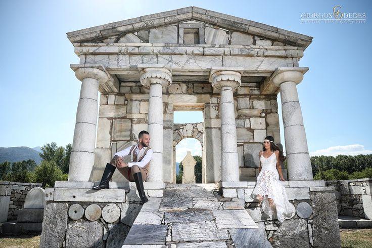 Φωτογράφηση γάμου στην Αρχαία Μαντινεία