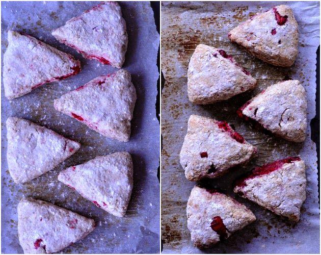 Ryescones w.raspberries