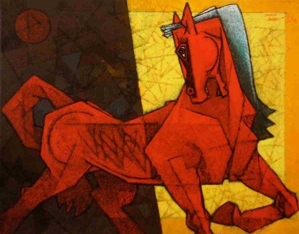 Into The Light I Traverse by Dinkar Jadhavon Artflute.com