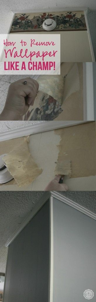 How to Remove Wallpaper Like a CHAMP! - Happily Ever After, Etc.