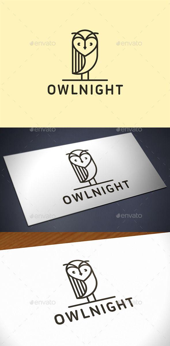 Owl  Logo Design Template Vector #logotype Download it here: http://graphicriver.net/item/owl-logo-template/12048696?s_rank=862?ref=nexion