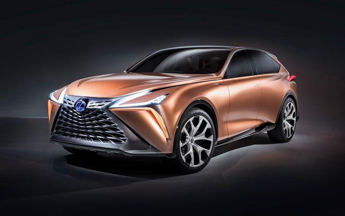 Download wallpapers Lexus LF-1 Limitless Concept, 4k, 2018 cars, crossovers, Lexus