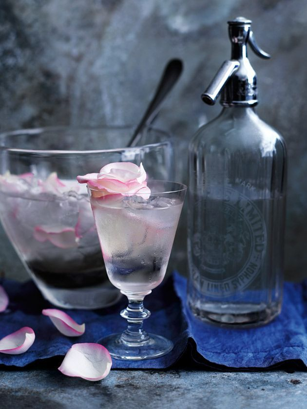 Rose Petal And Prosecco Punch | Donna Hay