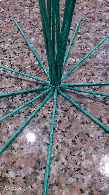 alap Картина панно рисунок Плетение панно Трубочки бумажные фото 9