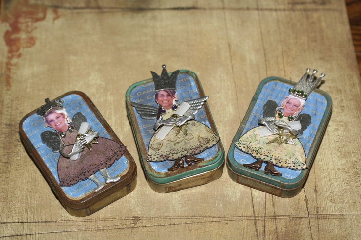 Altered Tins.