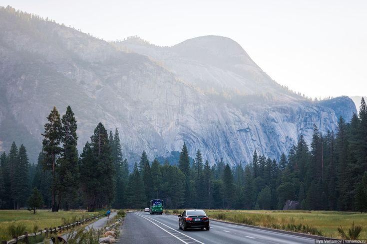 Путевые заметки, день 7 Про национальный парк Йосемити в России знают в основном…
