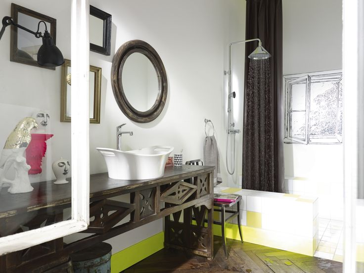 Different Mirrors Give The Room A Special And Exceptional Atmosphere.  Furthermore It Looks Perfect With. Bathroom AccessoriesThe ...
