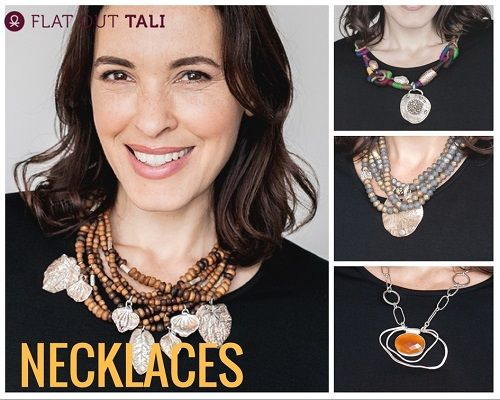 Necklaces complete an outfit.see out full range www.flatouttali.com #necklace #accessories #fashionista