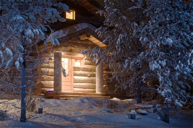 Картинки по запросу новый год дом в лесу