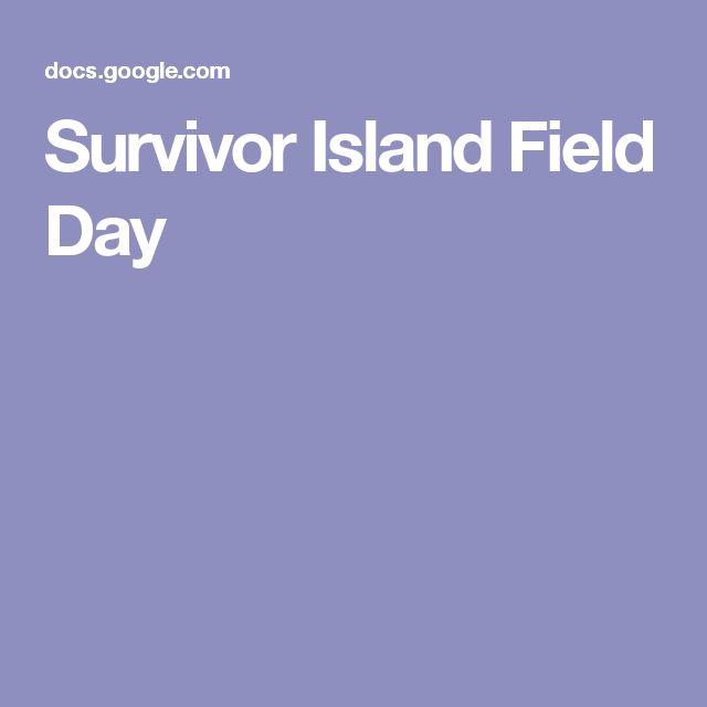 Survivor Island Field Day