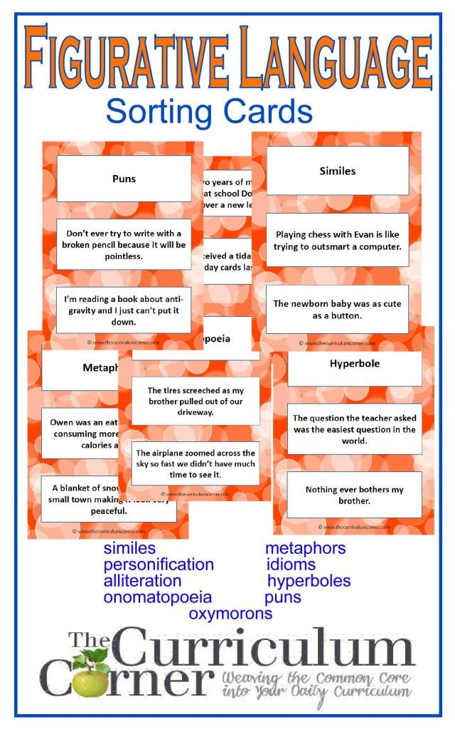 1000+ ideas about Figurative Language on Pinterest | Simile, Students ...
