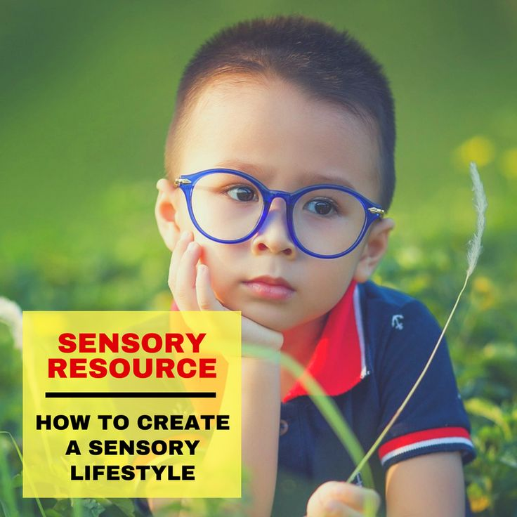 Sensory Resource: How to Create a Sensory Lifestyle.  Your Kids OT