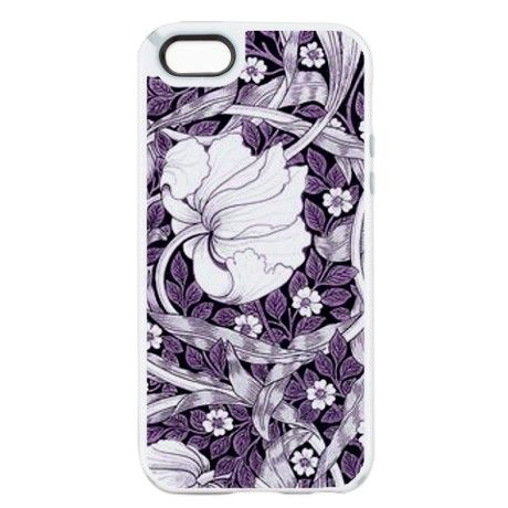 Purple White Tulips iPhone 5/5s Candy Case