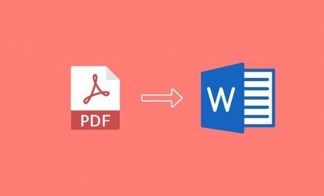 Convert Pdf To Microsoft Word Microsoft Word Document Words Computer Literacy
