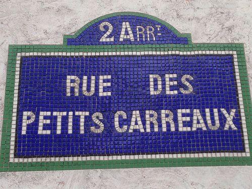Rue des petits carreaux, Paris
