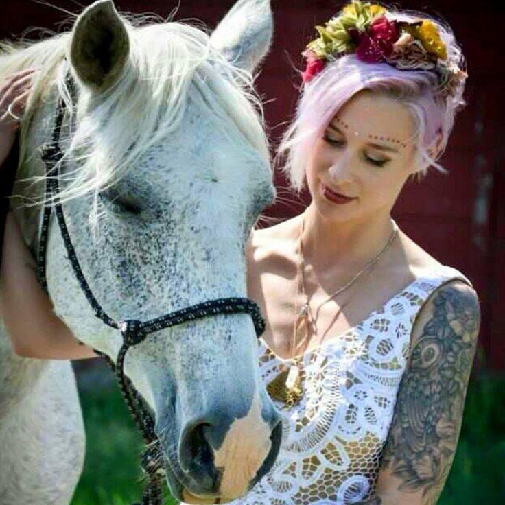 Stunning Canadian bride Britta wearing The House of Hats custom made silk flower headpiece