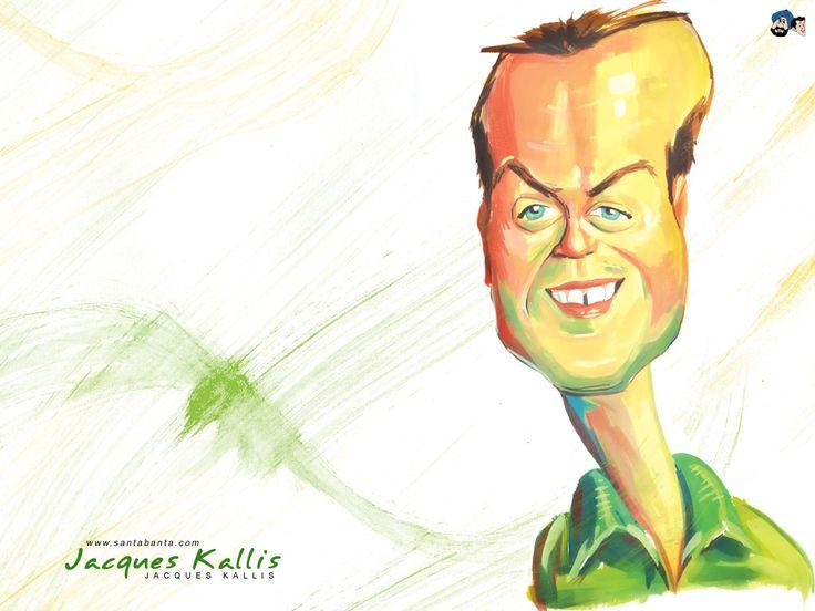 Jacques Kallis, Southafrican cricket player (by SantaBanta.com)