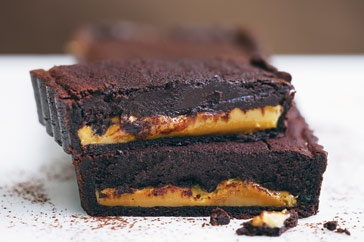 Chocolate caramel tart http://bit.ly/HRqbmE