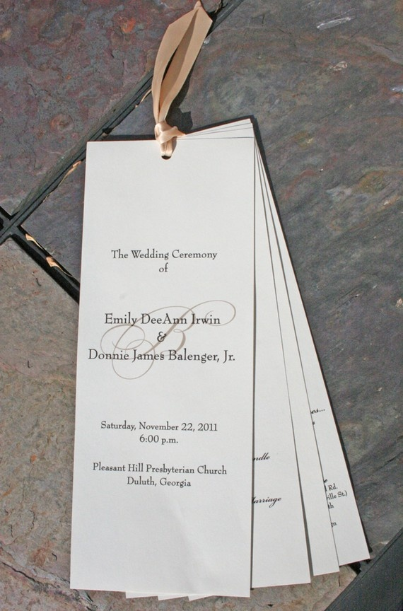 marriage invitation quotes for friends india%0A Tiger Lily Invitations Monogrammed Wedding Programs