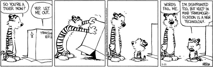 Calvin and Hobbes by Bill Watterson for Mar 25, 2017   Read Comic Strips at GoComics.com